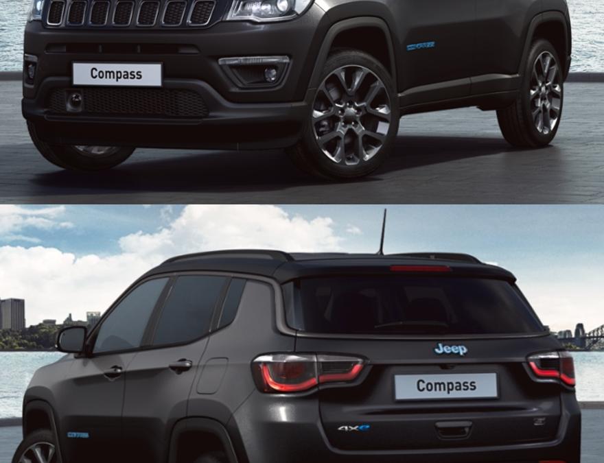LLD Jeep Compass S 4XE Hybride à 555€/mois