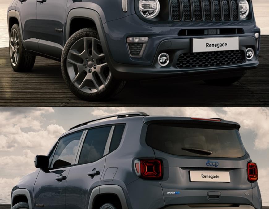 LLD Jeep Renegade S 4XE Hybride à 455€/mois